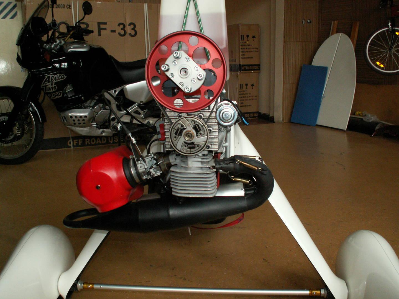 Motorové rogalo jednomístné FITI-Impuls 17